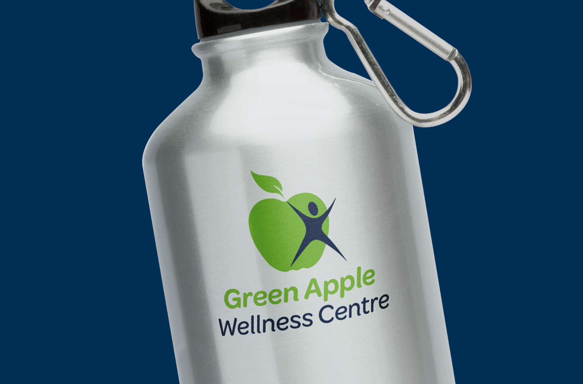 Green Apple Drink Bottle