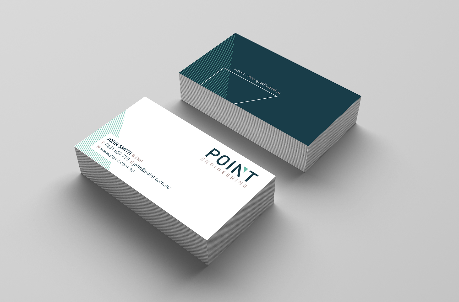 Point Engineering Business Card