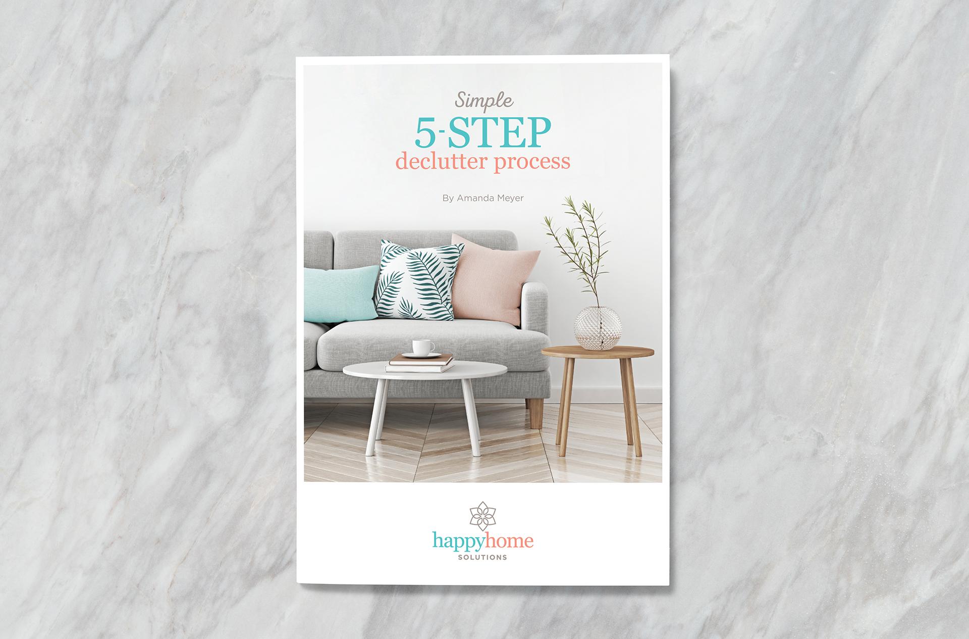 Happy Home Solutions Brochure Design