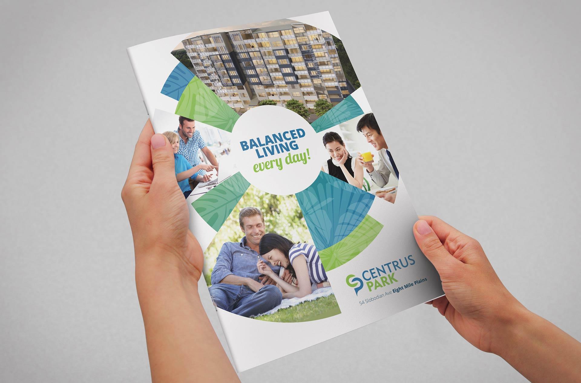 Centrus Park Brochure Cover