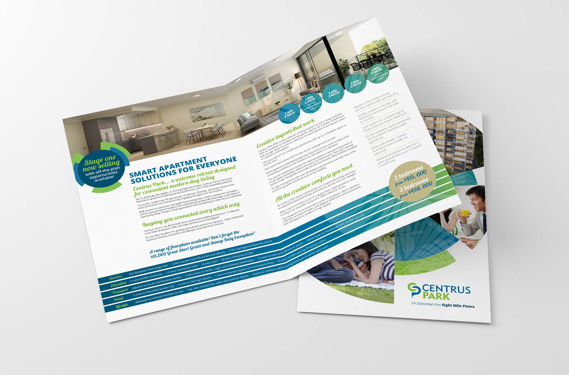 Centrus Park Brochure Inside