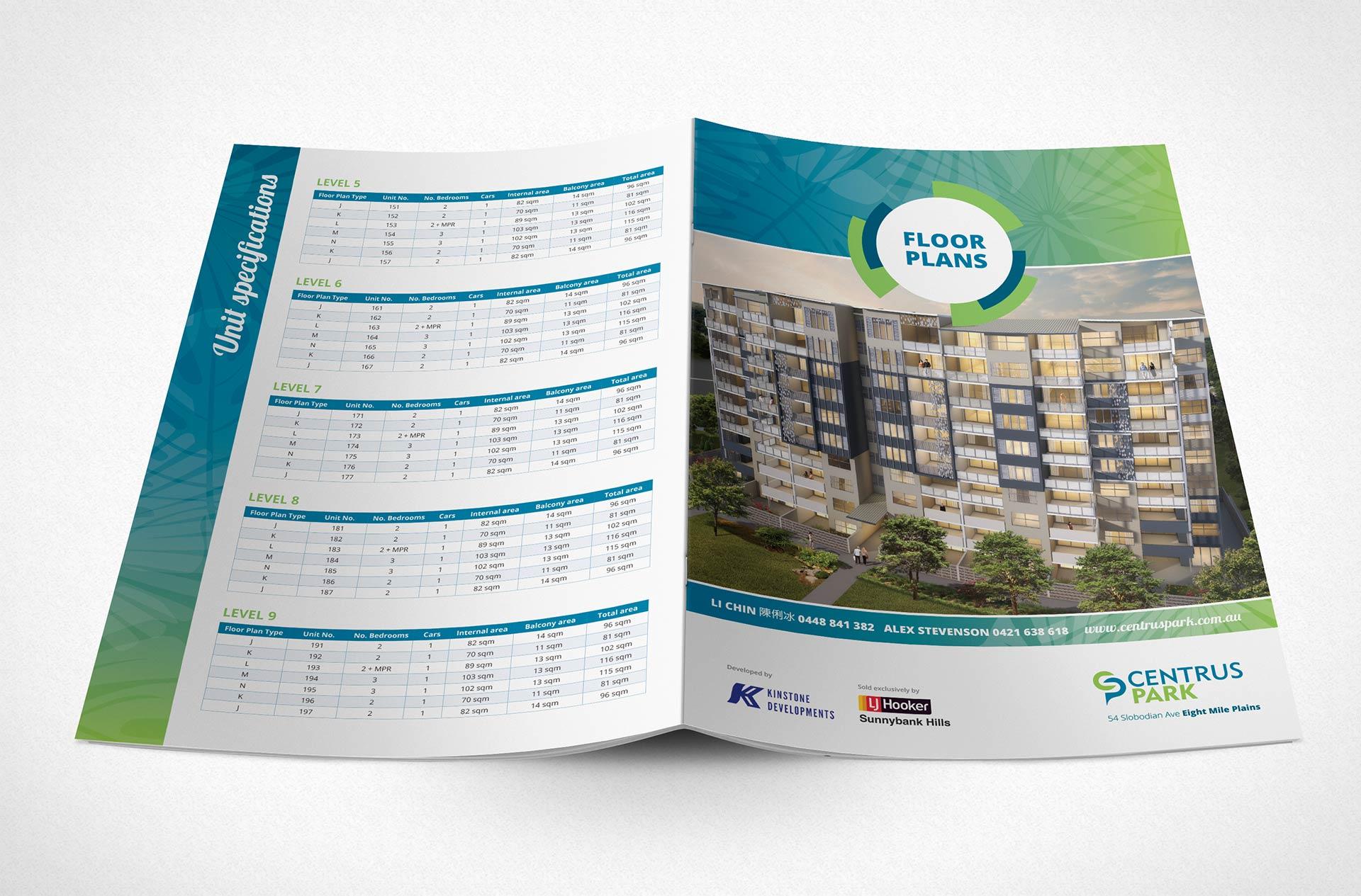 Centrus Park Floorplan Brochure Outside