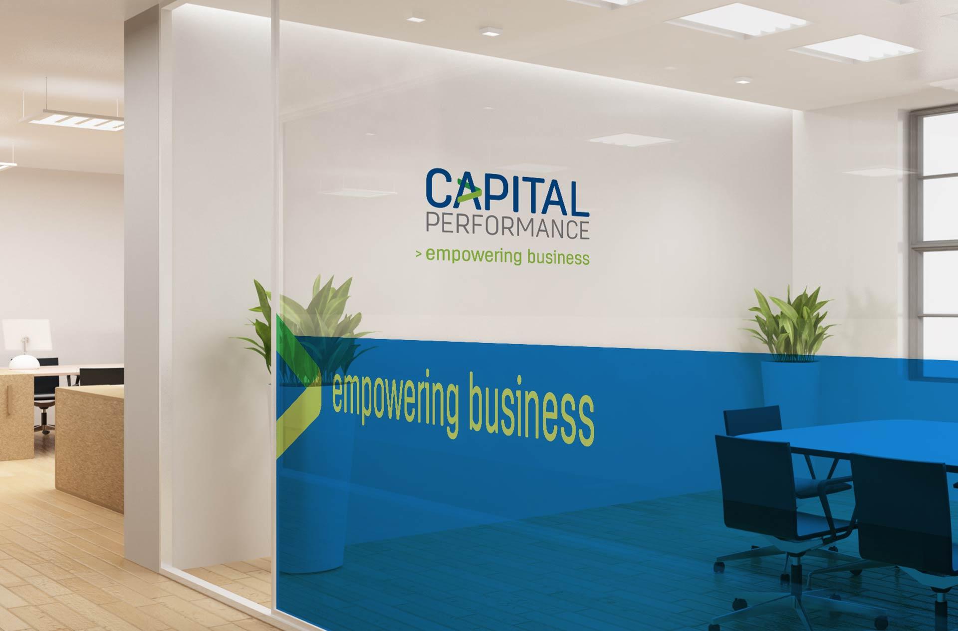 Capital Performance Signage