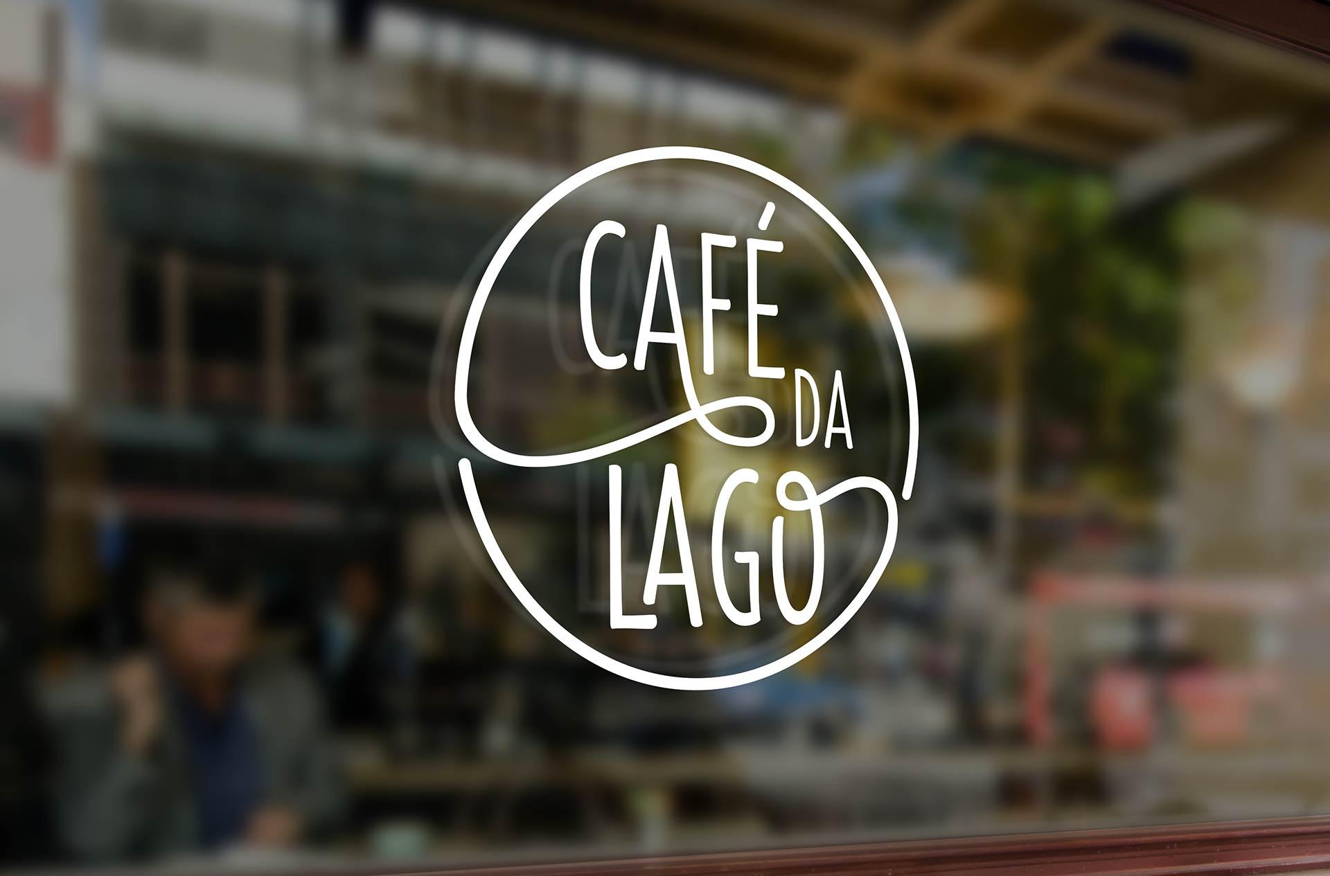 Cafe da Lago Logo Design