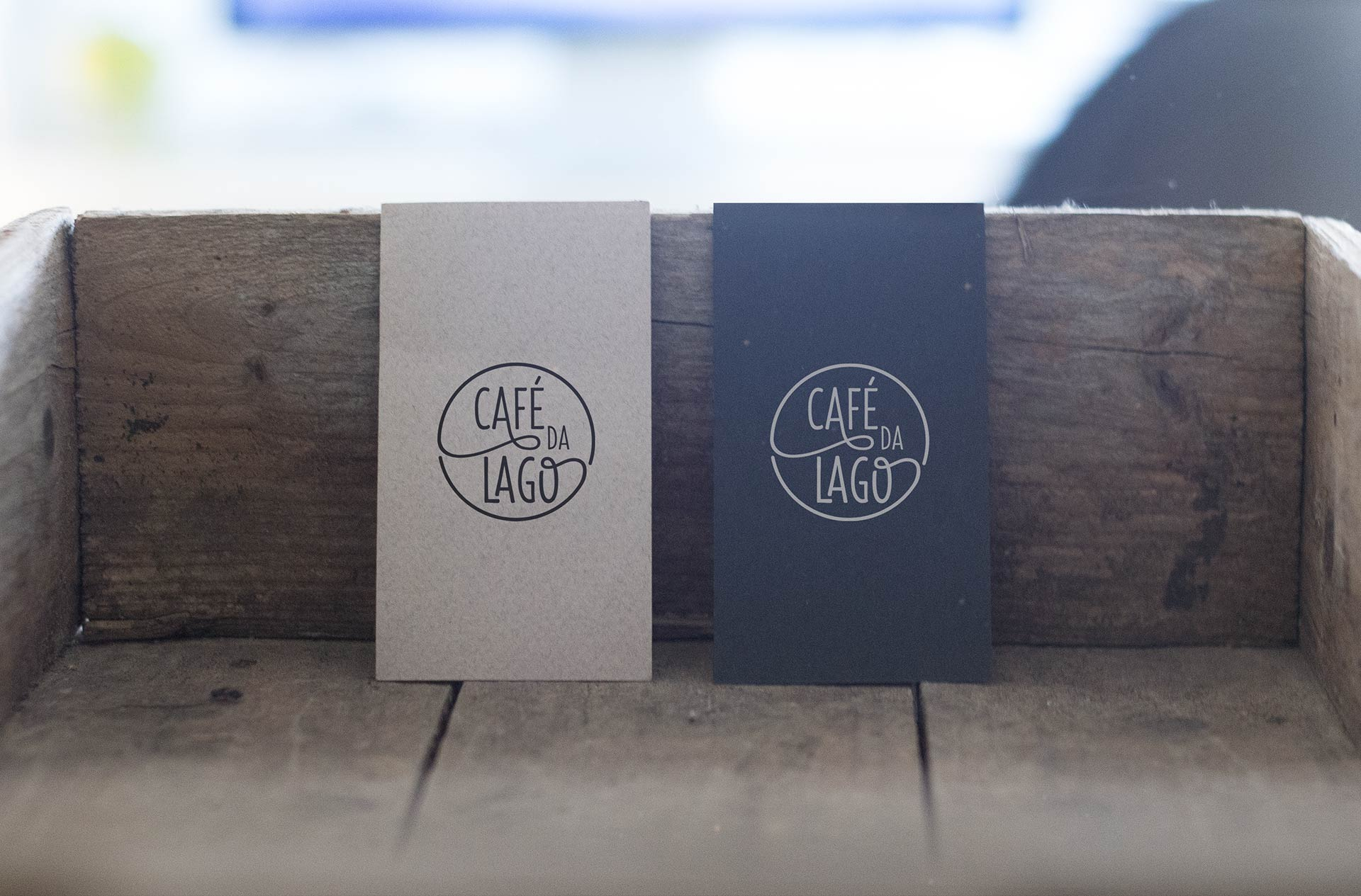 Cafe da Lago Business Card Design