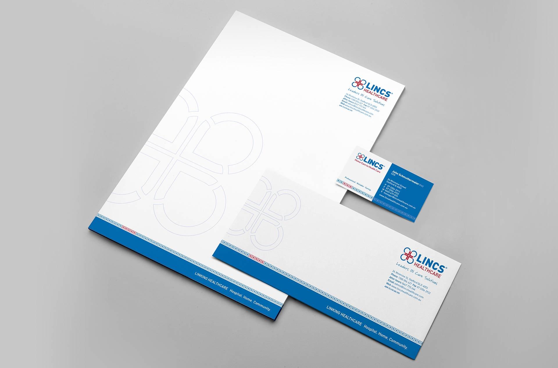 LINCS Stationery Design