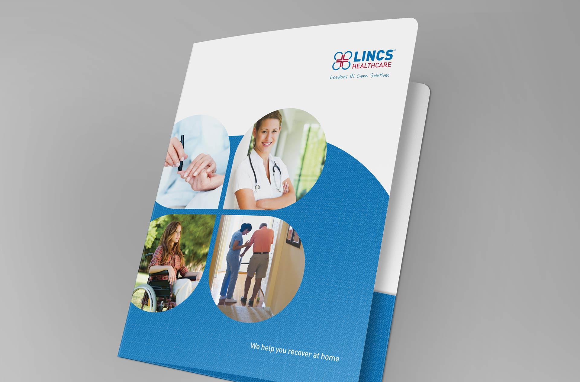LINCS Presentation Folder Design