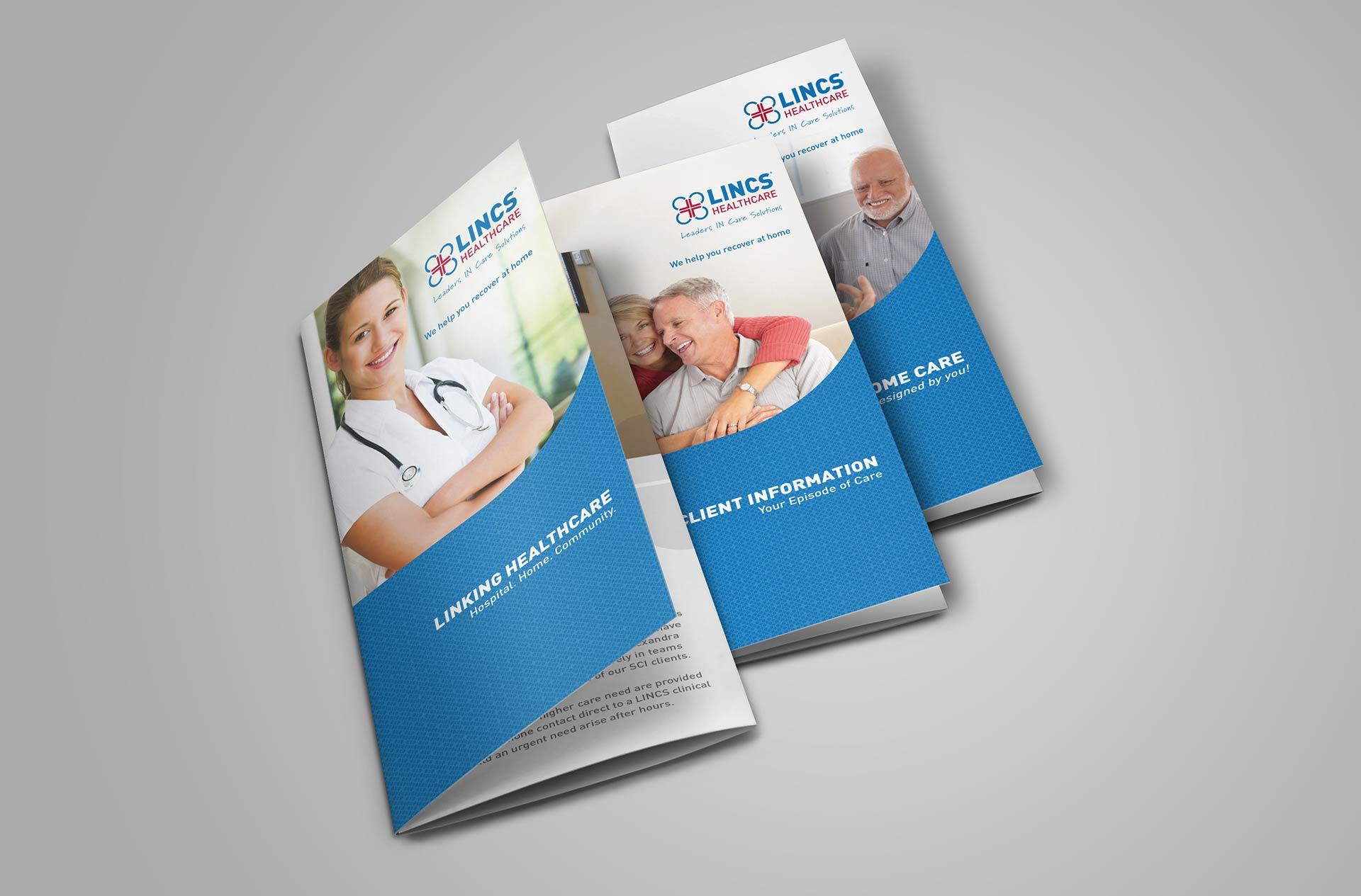 LINCS Brochure Design