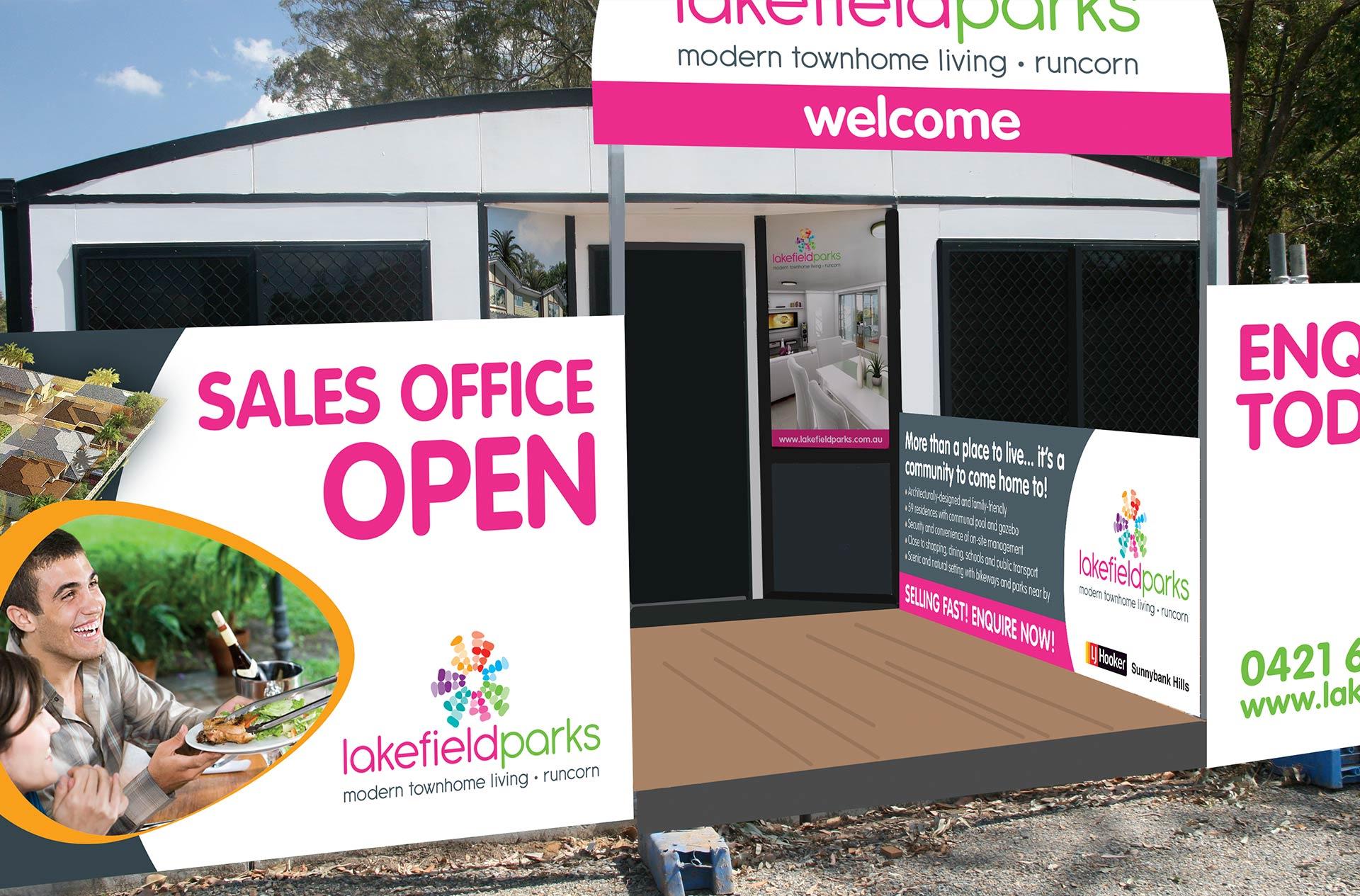 Lakefield Parks Signage Design