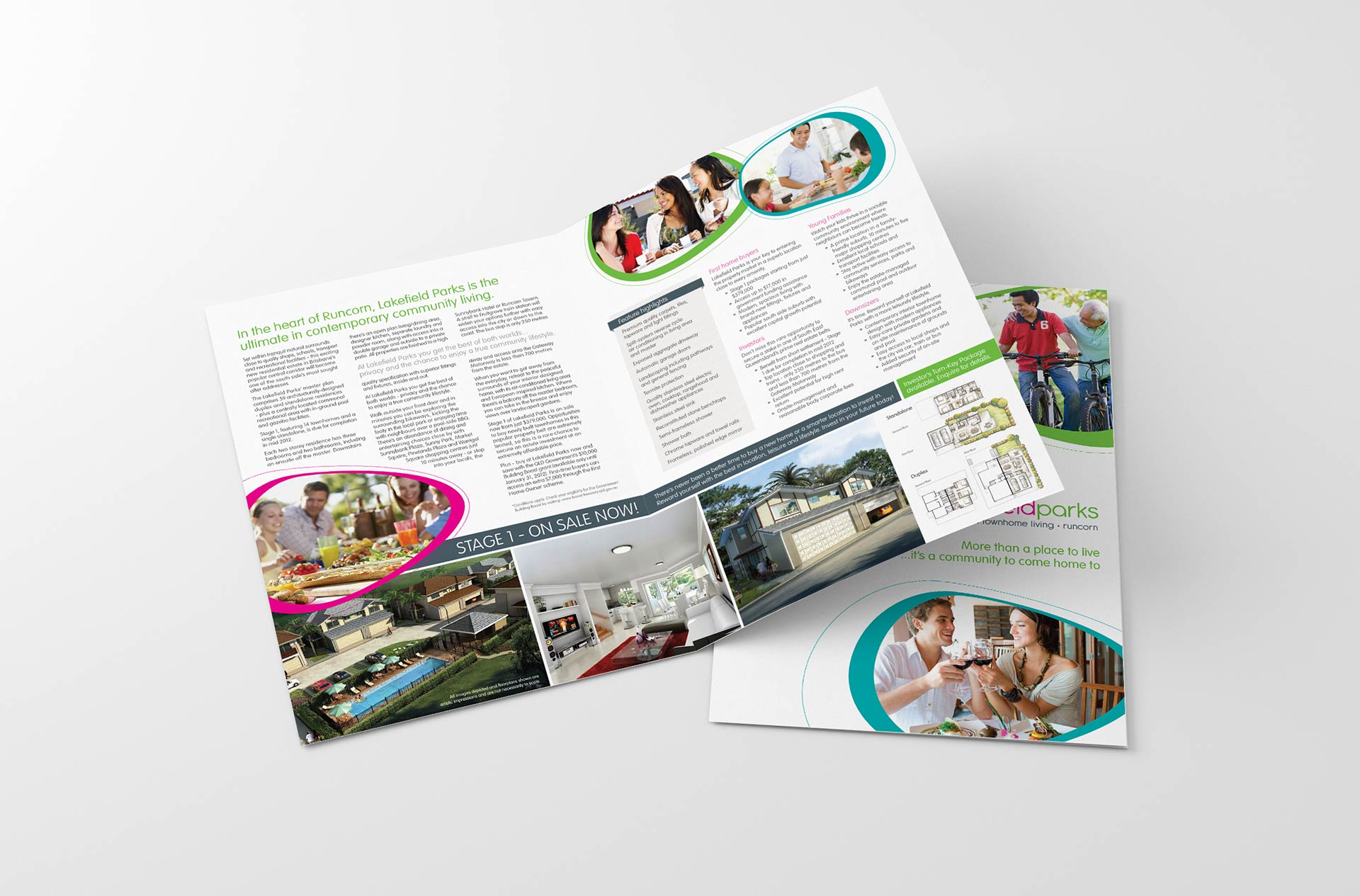 Lakefield Parks Brochure Design