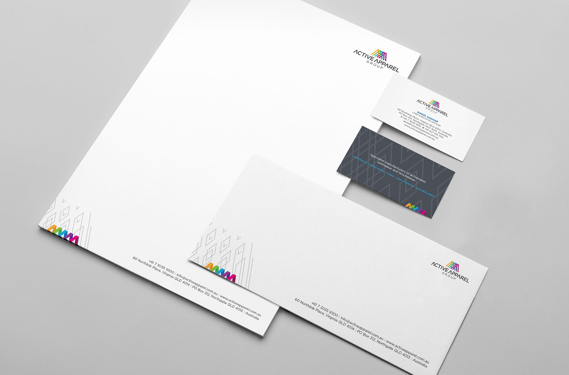 Active Apparel Group Stationery